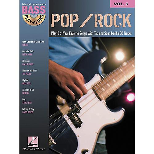 Hal Leonard Pop/Rock Bass Guitar Play-Along Series Book with CD