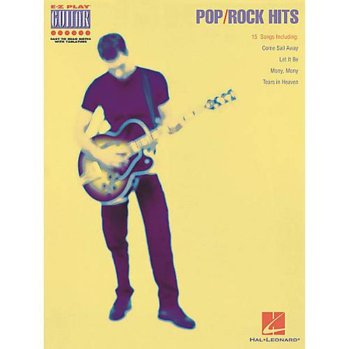 Hal Leonard Pop/Rock Hits Guitar Tab Book