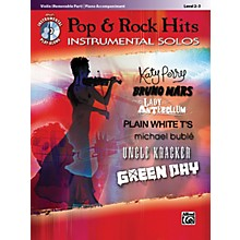 Alfred Pop & Rock Hits Instrumental Solos Violin Book & CD