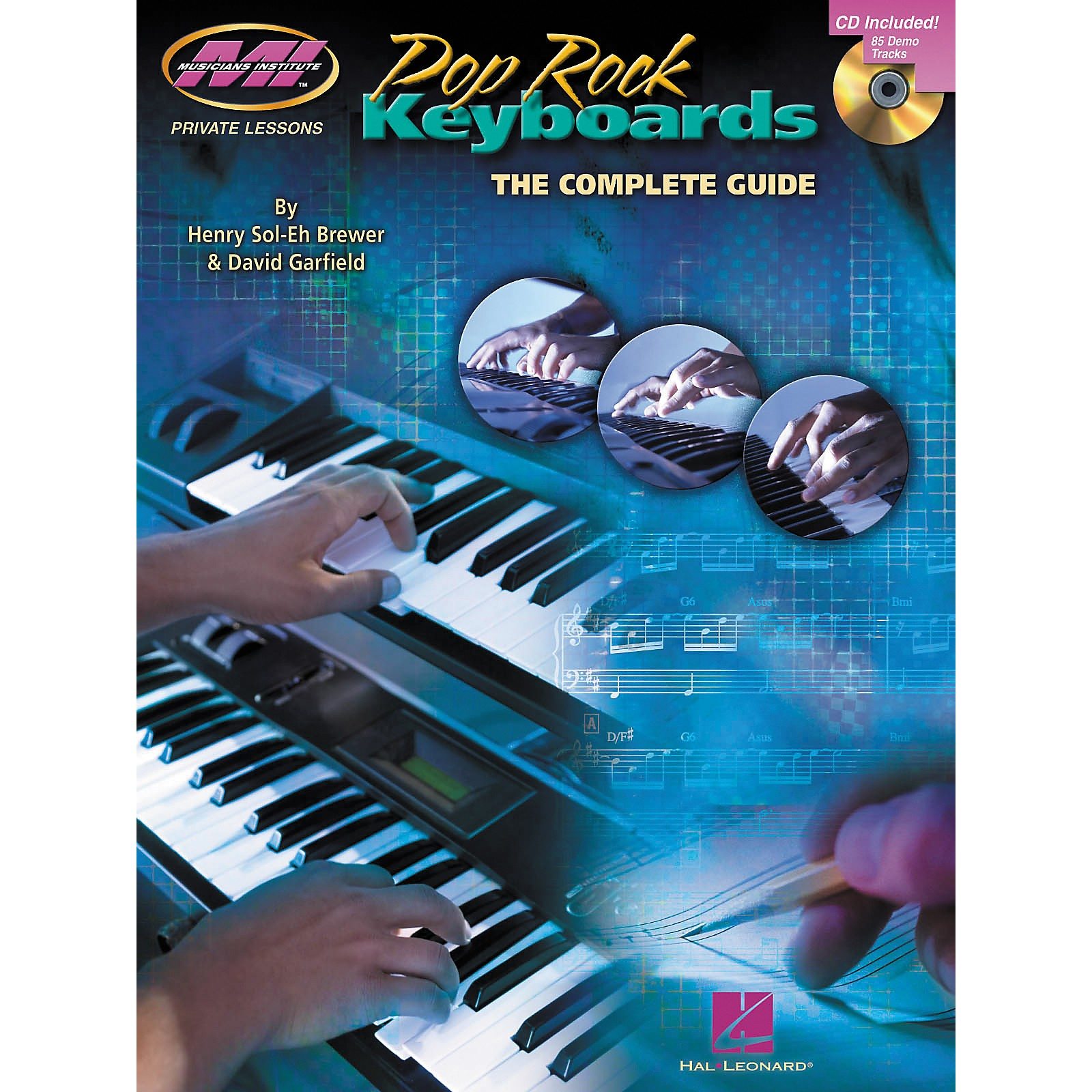 Musicians Institute Pop Rock Keyboards - The Complete Guide (Book/CD)