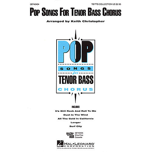 Hal Leonard Pop Songs for Tenor Bass Chorus (Collection) TB/TTB arranged by Keith Christopher