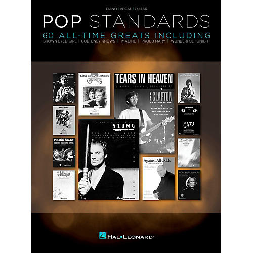 Hal Leonard Pop Standards  60 All Time Greats for Piano/Vocal/Guitar (PVG)