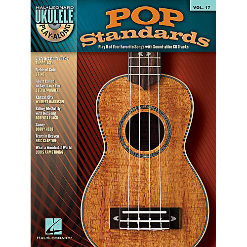 Hal Leonard Pop Standards Ukulele Play-Along Volume 17 Book/CD