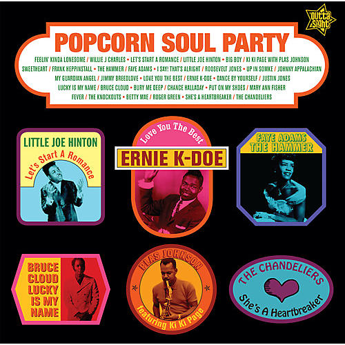Alliance Popcorn Soul Party: Blended Soul & R&B 1958-1962 / Various