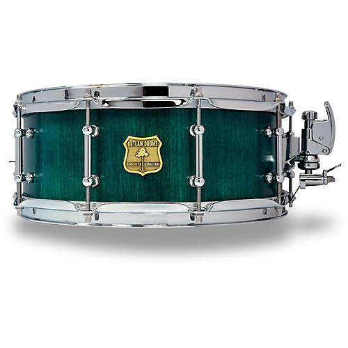 outlaw drums poplar stave snare drum with chrome hardware musician 39 s friend. Black Bedroom Furniture Sets. Home Design Ideas