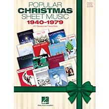 Hal Leonard Popular Christmas Sheet Music: 1940-1979 Piano/Vocal/Guitar Songbook