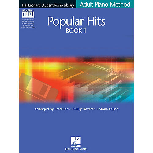 Hal Leonard Popular Hits Book 1 - Book/GM Disk Pack Educational Piano Library Series Softcover with CD