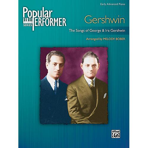 Alfred Popular Performer Gershwin