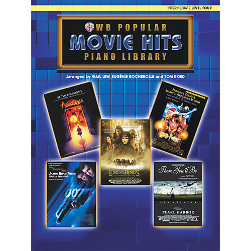 Alfred Popular Piano Library Movie Hits Level 4 Level 4 Book Only