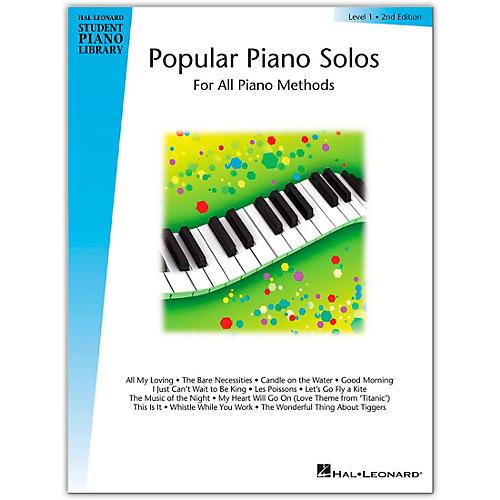 Hal Leonard Popular Piano Solos Book 1 Hal Leonard Student Piano Library