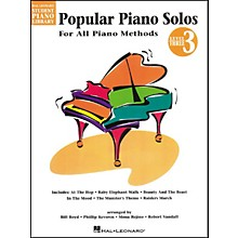 Hal Leonard Popular Piano Solos Book 3 Hal Leonard Student Piano Library by Bill Boyd