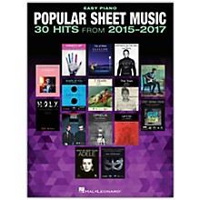 Hal Leonard Popular Sheet Music - 30 Hits From 2015-2017 for Easy Piano