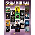Hal Leonard Popular Sheet Music - 30 Hits from 2014-2016 Piano/Vocal/Guitar Songbook thumbnail