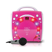 Open Box The Singing Machine Portable CD & Graphics Karaoke System