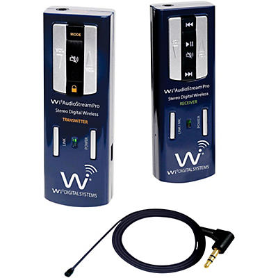 Wi Digital Portable Digital Wireless Lavalier System