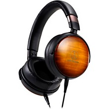 Audio-Technica Portable Over-Ear Wooden Headphones