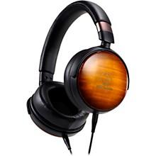 Open BoxAudio-Technica Portable Over-Ear Wooden Headphones