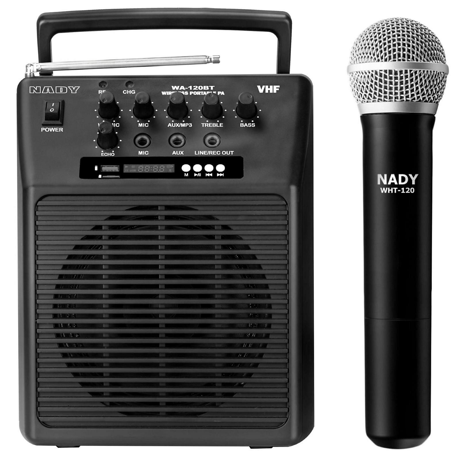 Nady Portable Wireless Instrument Pa Full Range Bluetooth Speaker System Musician S Friend