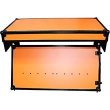 ProX Portable Z-Style Dj Table Flight Case - Orange/Black (XS-ZTABLEOB)