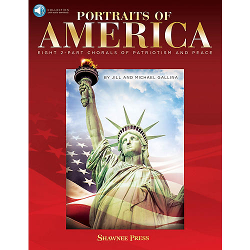 Hal Leonard Portraits of America BOOK WITH AUDIO ONLINE Composed by Jill Gallina