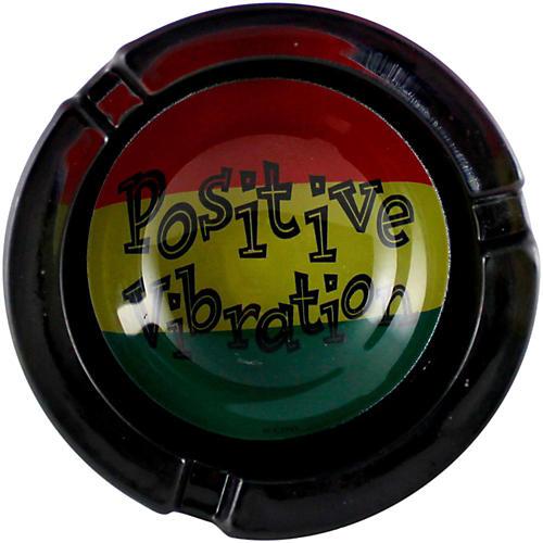 C&D Visionary Positive Vibration Glass Ashtray