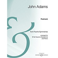 Boosey and Hawkes Postmark Boosey & Hawkes Chamber Music Series  by John Adams