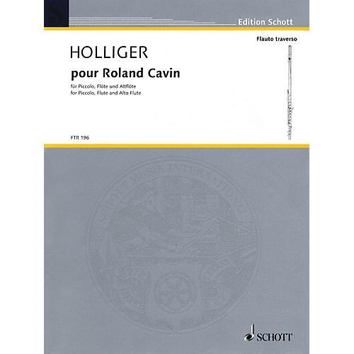 Schott Pour Roland Cavin Misc Series