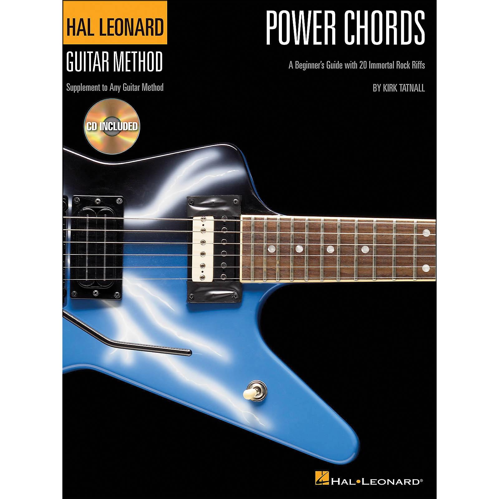 Hal Leonard Power Chords (Book/Online Audio) - Hal Leonard Guitar Method Supplement