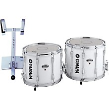 Power-Lite Marching Snare Drum with Carrier White Wrap 14 in.