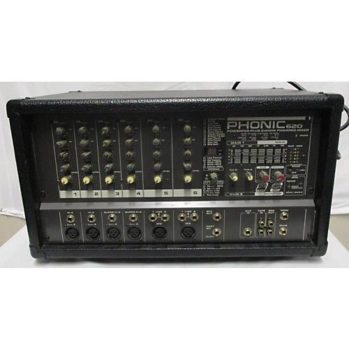 Power Pod Plus 620 Powered Mixer