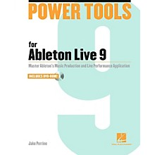 Hal Leonard Power Tools For Ableton Live 9 Book/DVD-ROM
