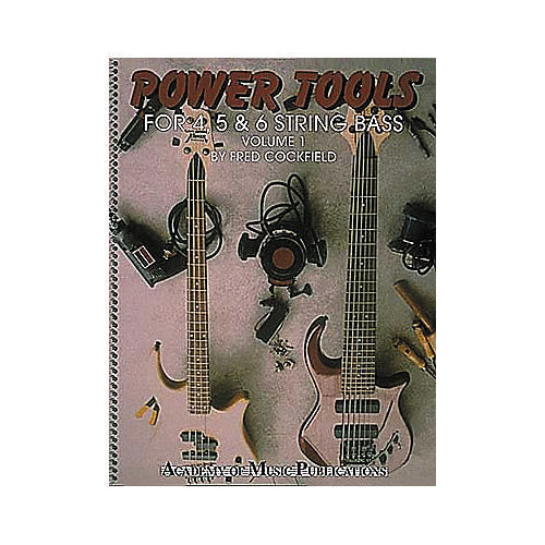 Hal Leonard Power Tools for 4, 5 and 6 String Bass Volume 1