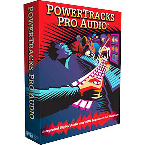 PG Music Power Tracks Pro Audio Regular Version 11