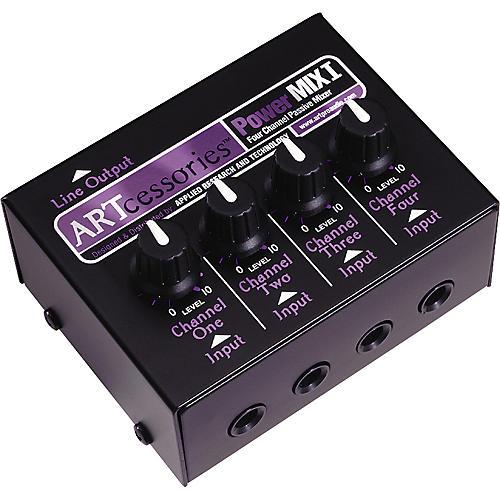 ART PowerMIX l - 4 Channel Mixer