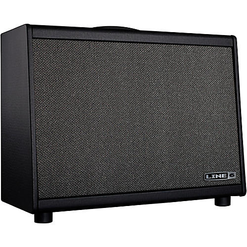 Line 6 Powercab 112 250W 1x12 FRFR Powered Speaker Cab Black and Silver