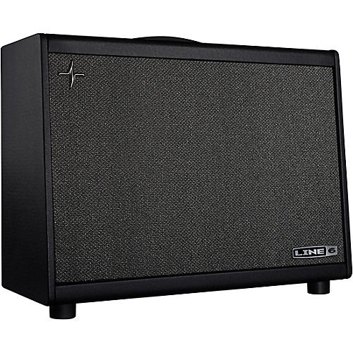 Line 6 Powercab 112 Plus 250W 1x12 FRFR Powered Speaker Cab Black and Silver