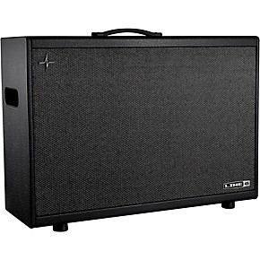 line 6 powercab 212 plus 500w 2x12 powered stereo guitar speaker cab black and silver musician. Black Bedroom Furniture Sets. Home Design Ideas