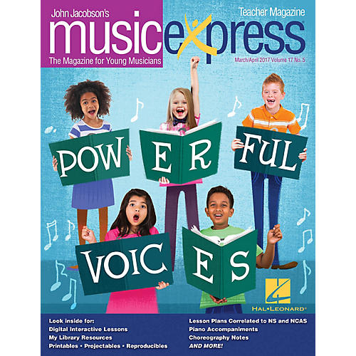 Hal Leonard Powerful Voices Vol. 17 No. 5 (March/April 2017) PREMIUM PAK Arranged by Emily Crocker