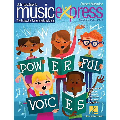 Hal Leonard Powerful Voices Vol. 17 No. 5 (March/April 2017) Student 10Pk Arranged by Emily Crocker