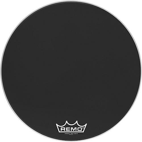 Remo Powermax 2 Ebony Crimplock Bass Drum Head