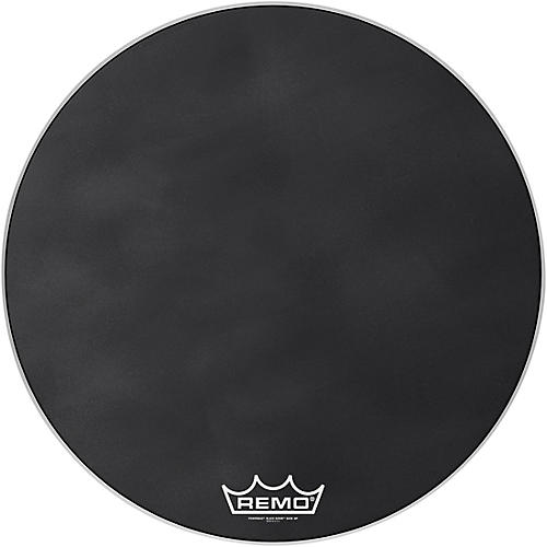 Remo Powermax Black Suede Crimplock Bass Drum Head 30 in.