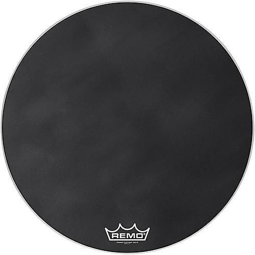 Remo Powermax Black Suede Crimplock Bass Drum Head 32 in.