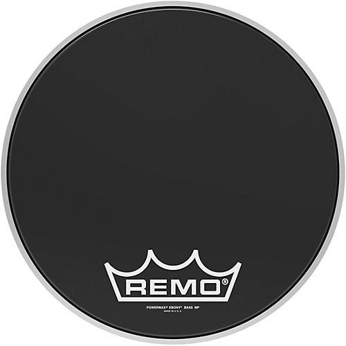 Remo Powermax Ebony Crimplock Bass Drum Head