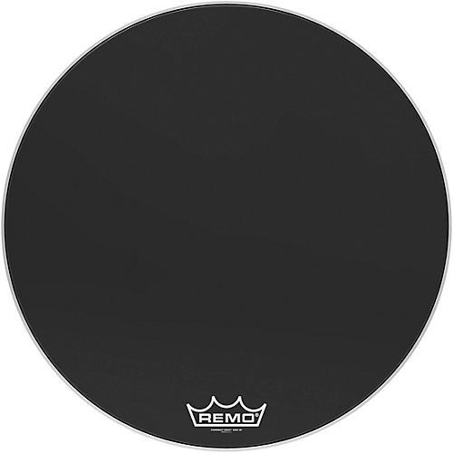 Remo Powermax Ebony Crimplock Bass Drum Head 32 in.