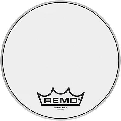 Remo Powermax Ultra White Crimplock Bass Drum Head