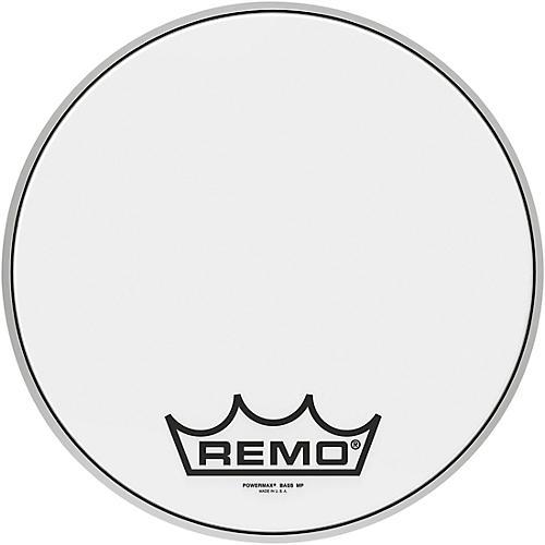 Remo Powermax Ultra White Crimplock Bass Drum Head 14 in.