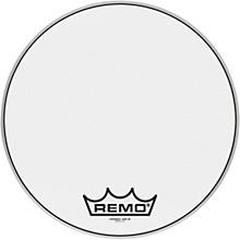 Powermax Ultra White Crimplock Bass Drum Head 18 in.