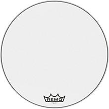 Powermax Ultra White Crimplock Bass Drum Head 28 in.