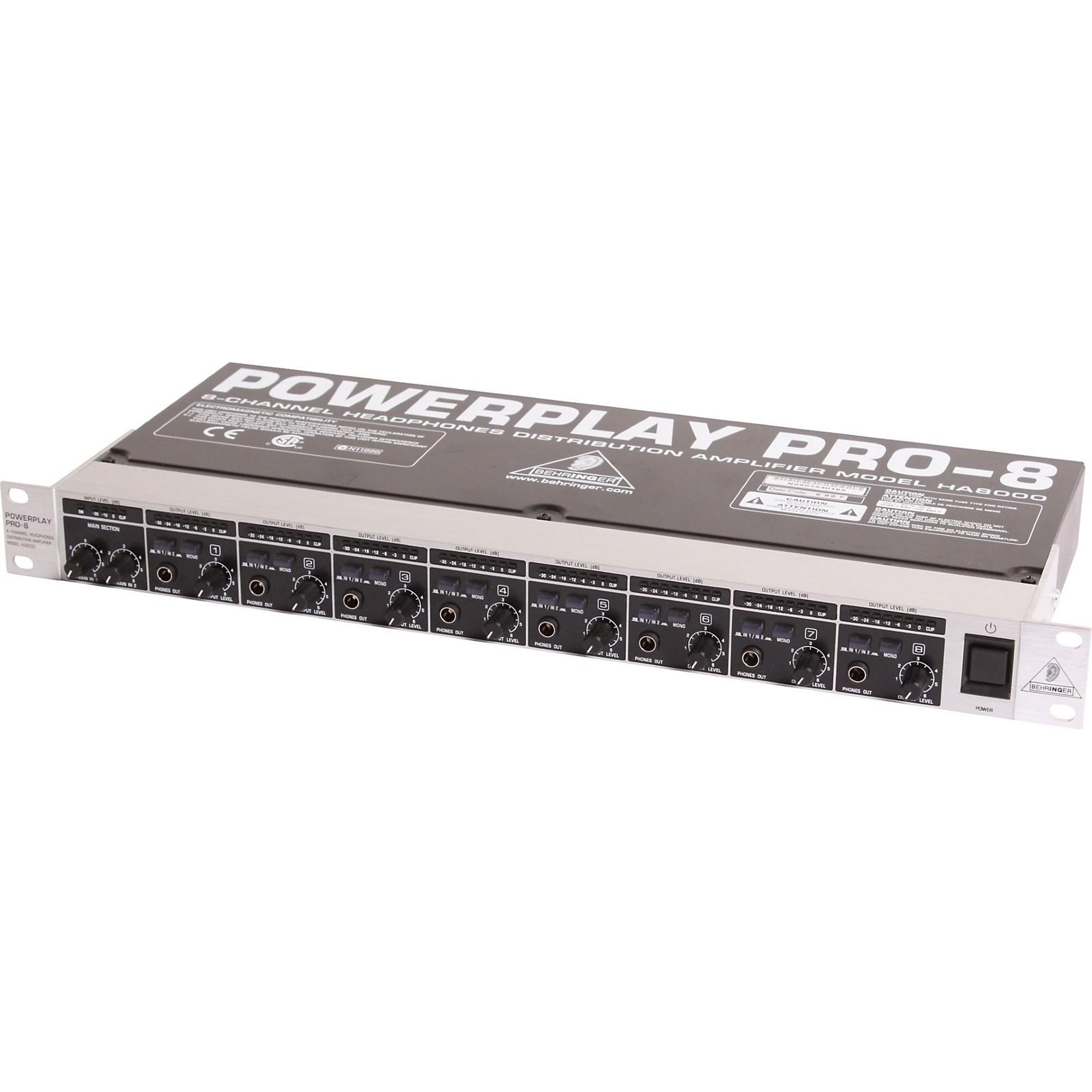 Behringer Powerplay PRO-8 HA-8000 Headphone Amp