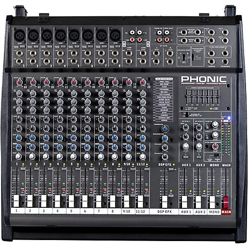 Phonic Powerpod 1860 Deluxe 800W Powered Mixer